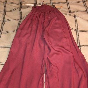Rewash Pants - High-waisted Wide Leg Pants